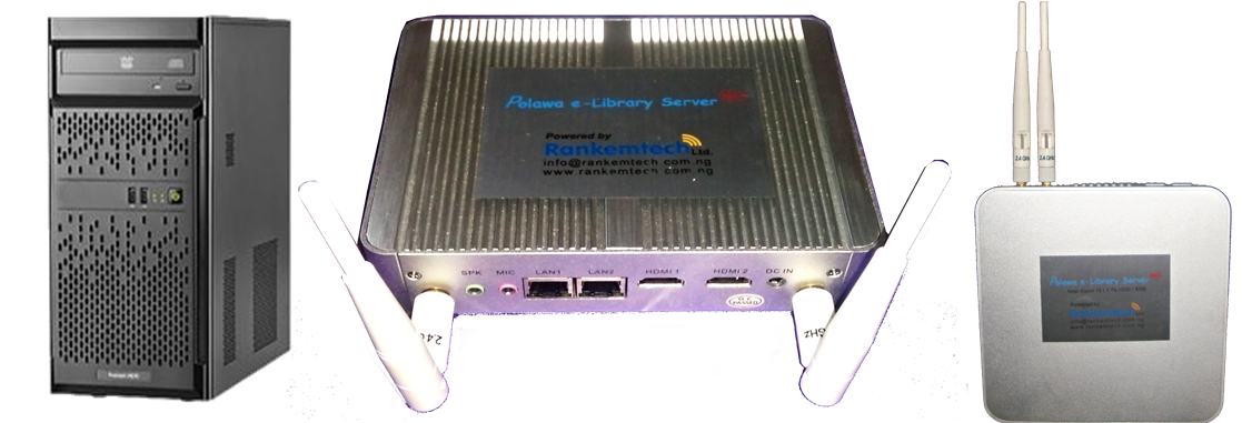 Polawa e-Library Server